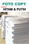 Foto Copy Hitam & Putih Digital 24 Jam